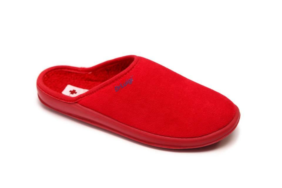 854a960eb1ea Papuče Dr.LUIGI č.37 červená