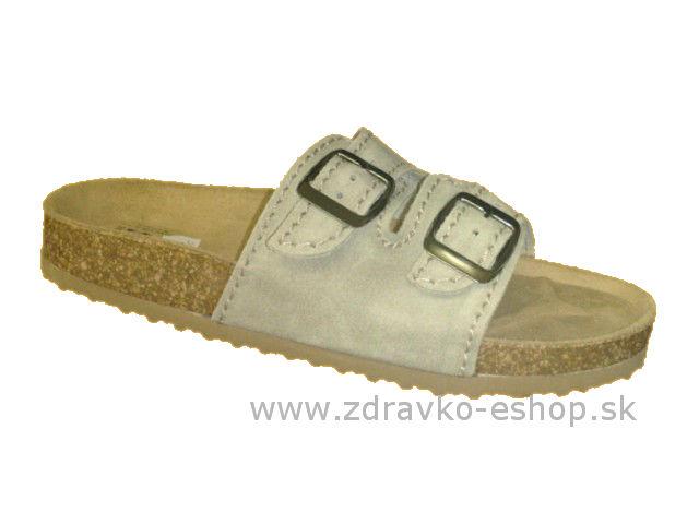 f228d1be586c Sandále ortopedické č.43 T13 PROTETIKA sivá