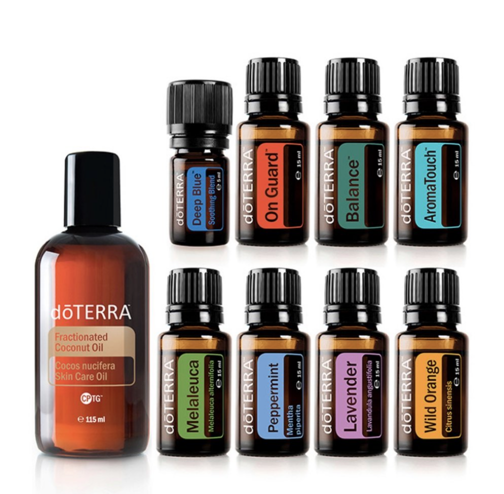 doTerra Aroma Touch Technique Kit 8 olejov po 5ml a 1 Kokosový olej 115 ml