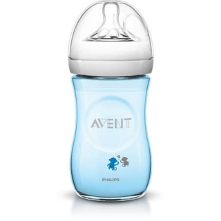 Avent fľaša 260ml Natural PP opica