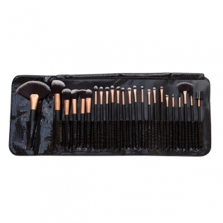RIO Profesionálna sada štetcov na make-up (Professional Make-Up Brush Set) 24 ks