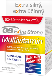 GS Extra Strong multivitamín 60+60tbl